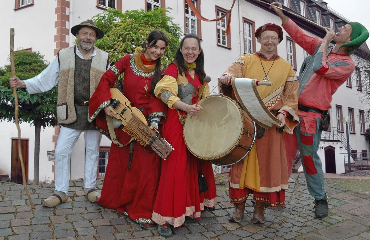Historischer Leininger Markt in Guntersblum am 29. und 30. April 2017