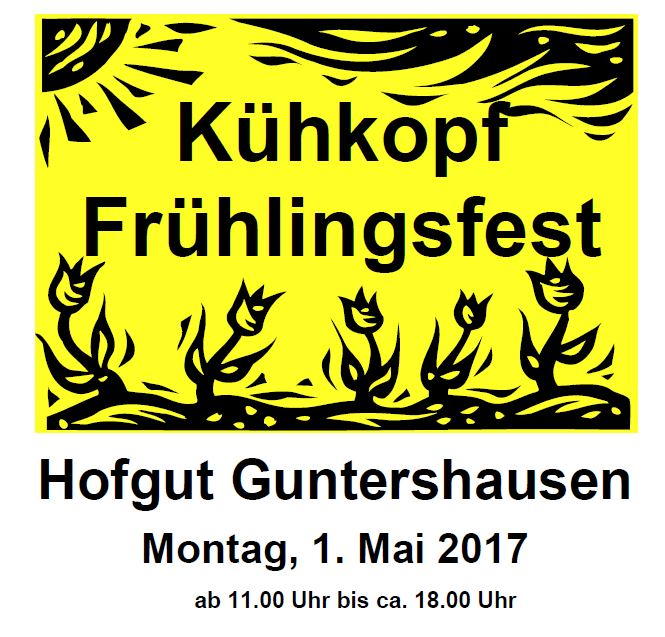Kühkopf-Frühlingsfest  auf dem Hofgut Guntershausen am 1. Mai 2017