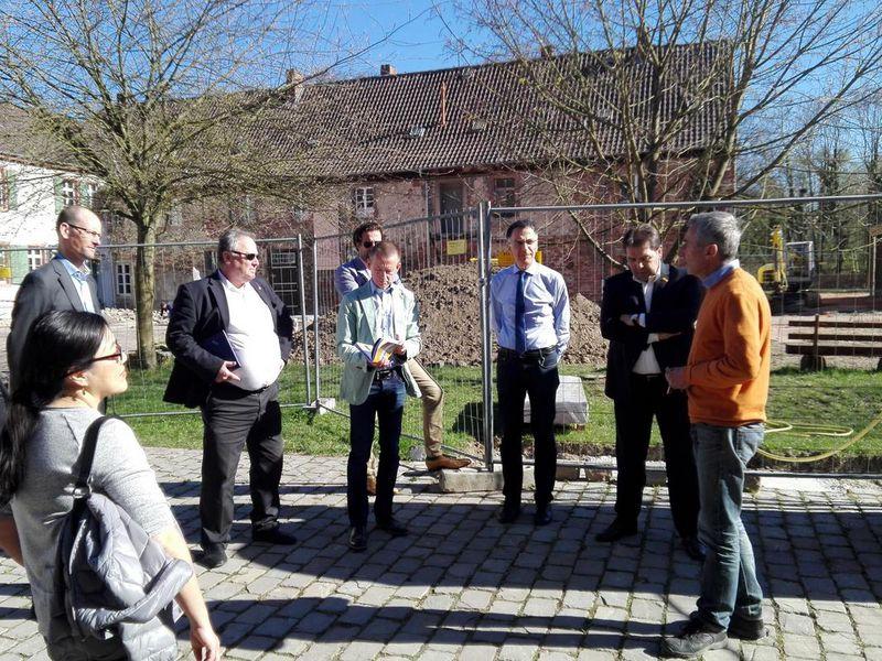 Führung durchs Hofgut Guntershausen: Pläne für kulturhistorisches Zentrum