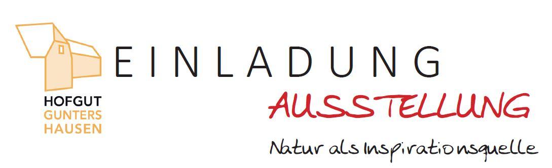 """Vernissage zur Ausstellung """"Natur als Inspirationsquelle"""" am 8. September 2017"""