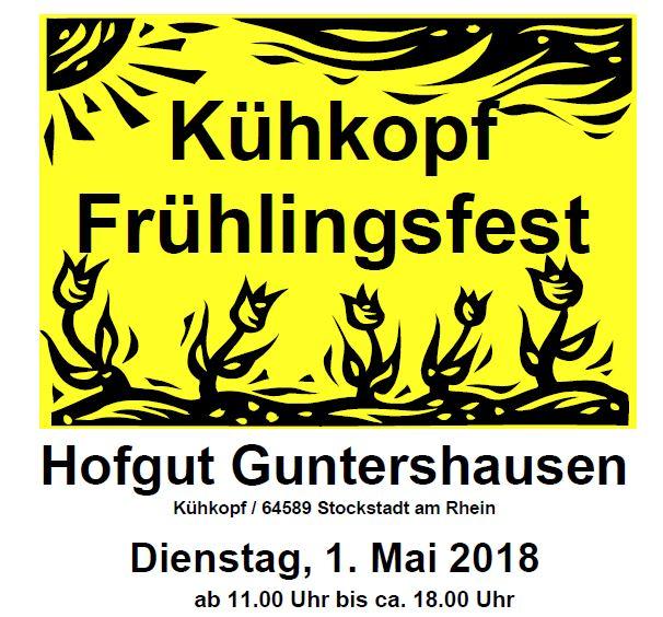 Kühkopf Frühlingsfest auf dem Hofgut