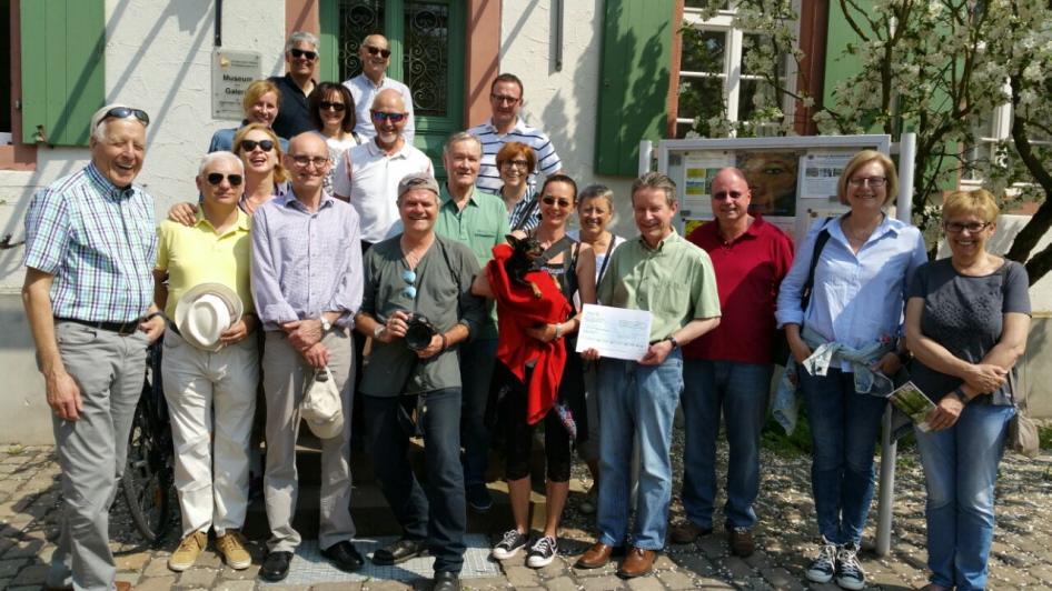 Besuch vom Rotary Club Rodgau