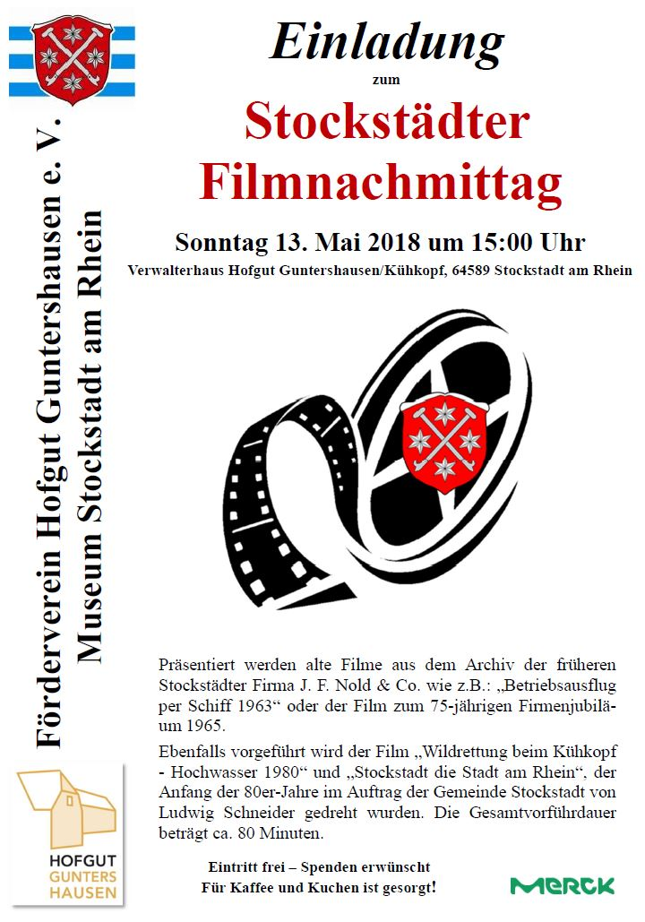 Stockstädter Filmnachmittag im Hofgut Guntershausen