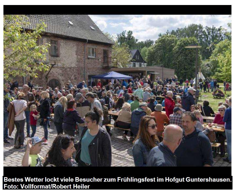 Vereine präsentieren sich beim Frühlingsfest auf dem Kühkopf