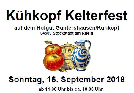Kelterfest auf dem Hofgut Guntershausen