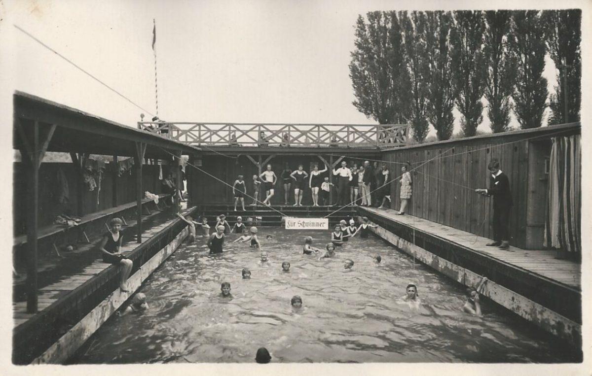 Von der Stockstädter Badeanstalt zum Schwimmbad
