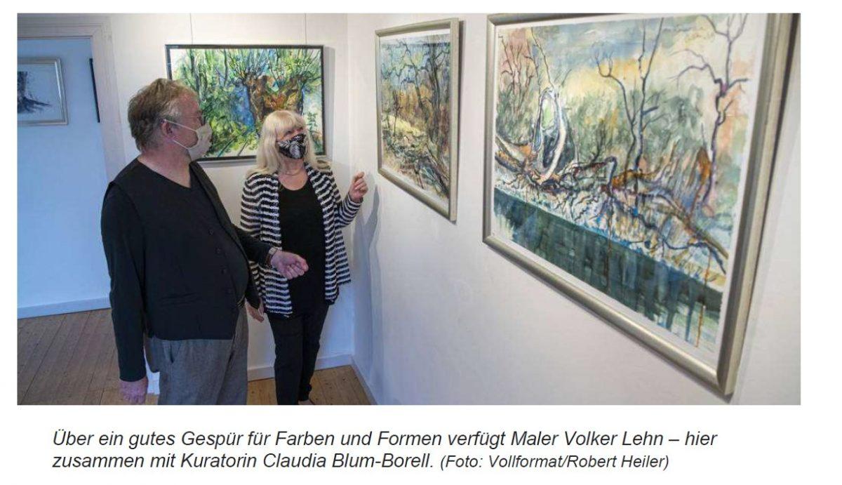 """Groß Gerauer Echo vom 2.9.2020 """"Erst Fotos, dann Gemälde"""""""