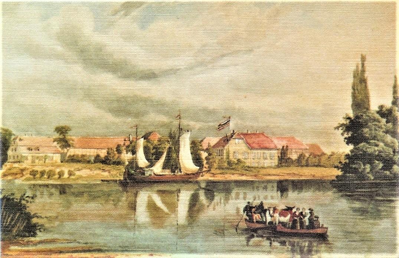 Aus dem Stockstädter Museum – Das Aquarell das Grafen Oberndorff